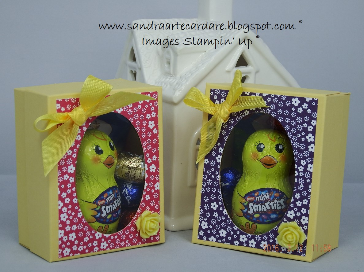 Easter arty paper crafters easter gift boxes using stampin up supplies negle Image collections