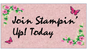 Join Stampin Up Today
