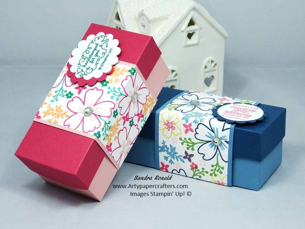 Handmade Business Card Gift Box with very pretty Belly Band made ...