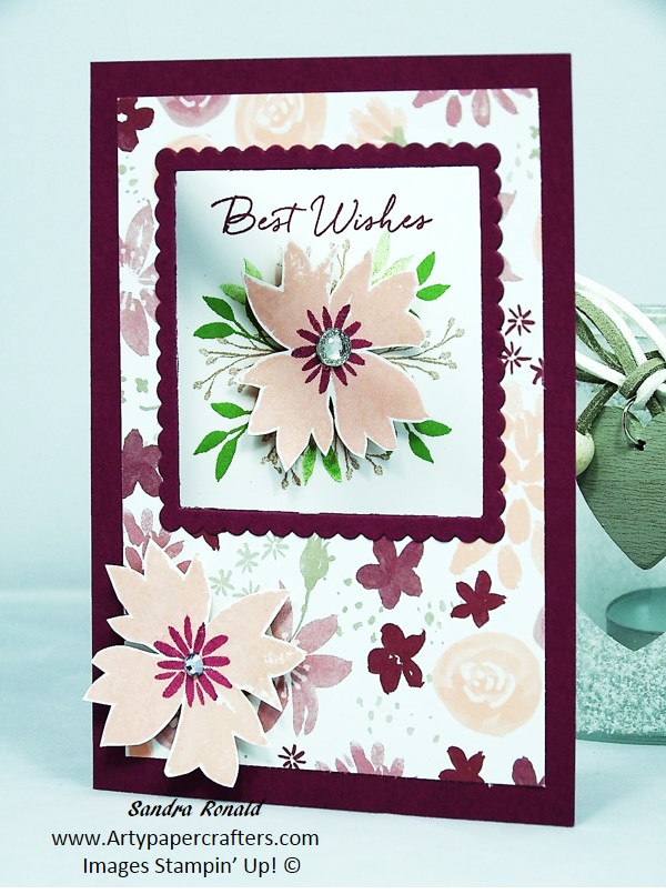 Handstamped greetings card blooms wishes 25 off during november handstamped greetings card blooms wishes 25 off during november 2016 stampin up m4hsunfo