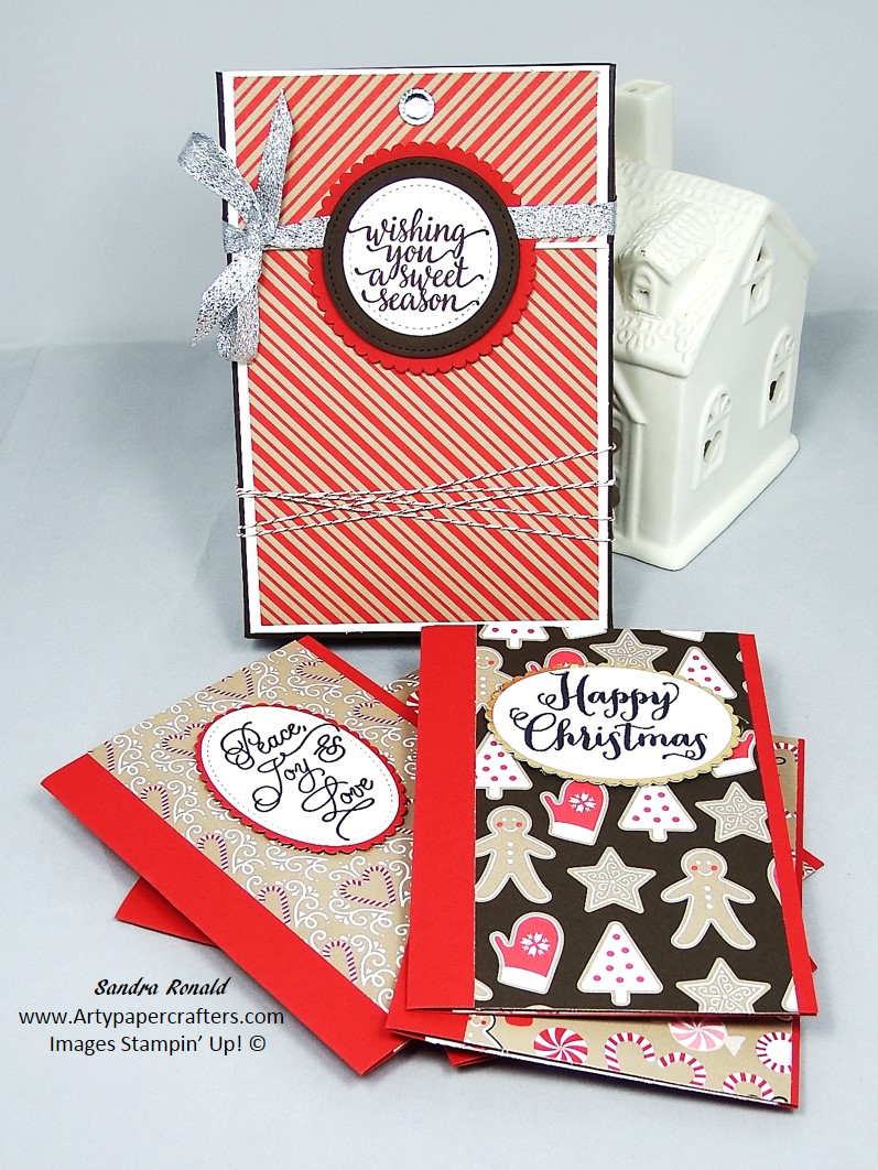 Quick And Easy Christmas Greetings Cards With Matching Gift Box