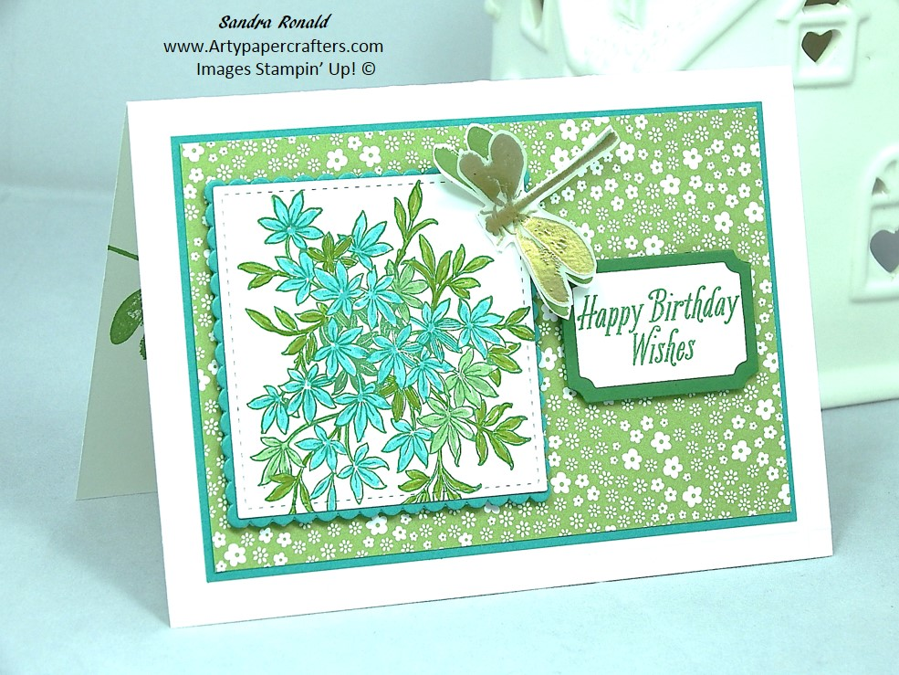 Stampin Up Greetings Card Arty Paper Crafters