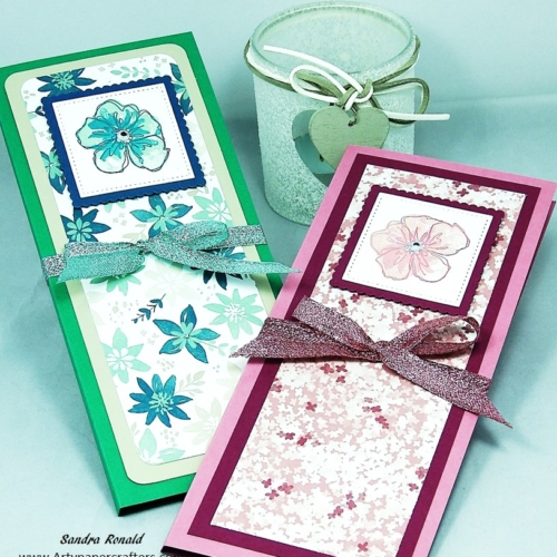 Handmade Calendar and Notebook Folders using Stampin' Up! products