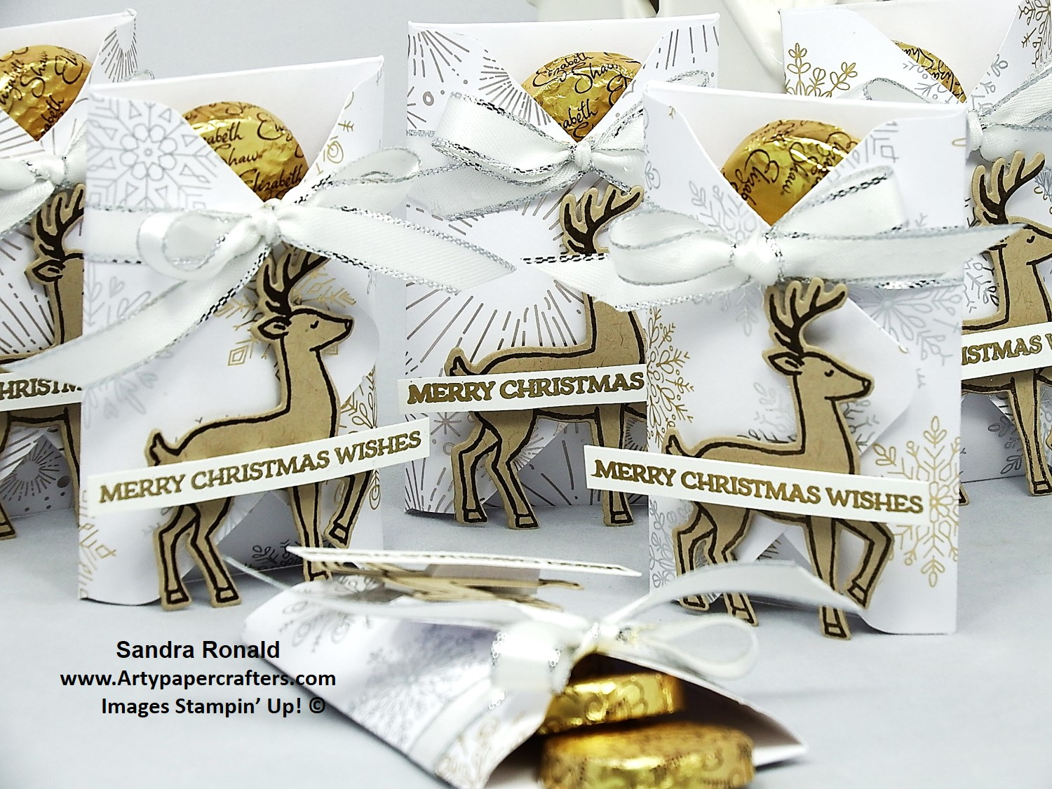 25 Advent - LARGE EPB Favours | Arty Paper Crafters