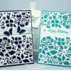 Stampin' Up Handmade Greeting Card with beautiful detail