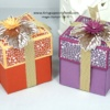Easy Explosion Gift Boxes - Stampin' Up!