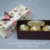 Ferrero Rocher Treat Box with ribbon pull