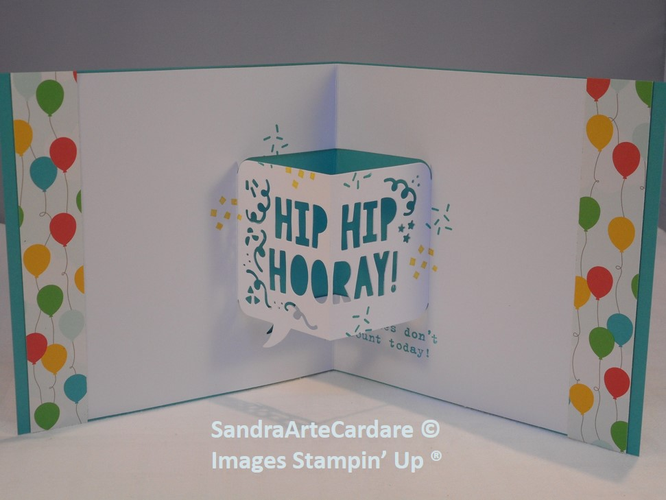To Make My Pop Up Birthday Card Today I Have Used The Party With Cake Stamp Set Which Goes Thinlet Dies And If You Buy Them Together
