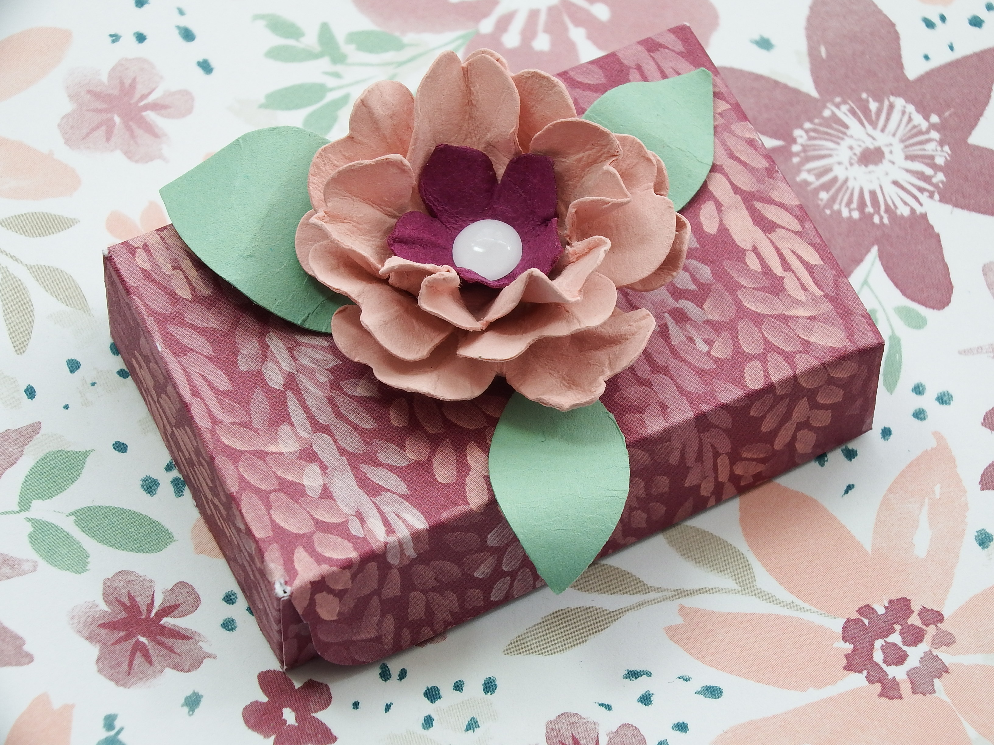 Handmade Gift Card with Tic Tac Treat Box – Part 1 made using ...