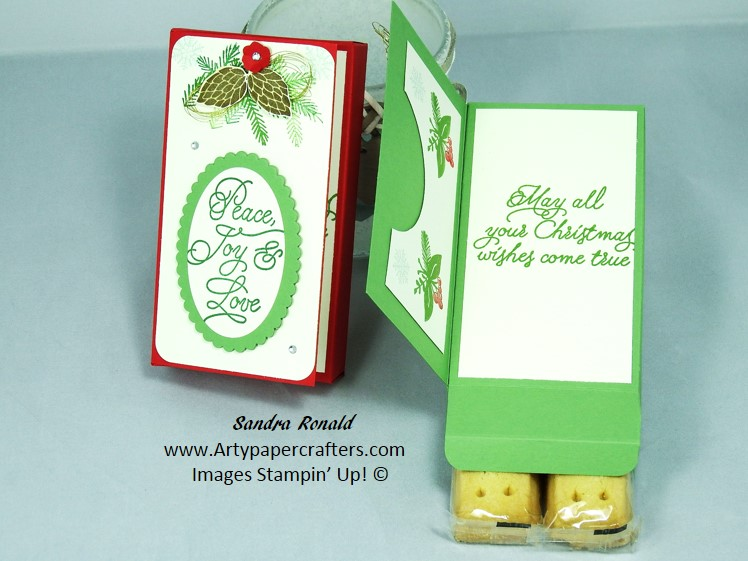 Christmas Gift Card Ideas.Christmas Gift Box Stampin Up Arty Paper Crafters