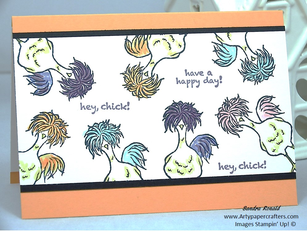Hey, Chick Card Stampin' Up | Arty Paper Crafters